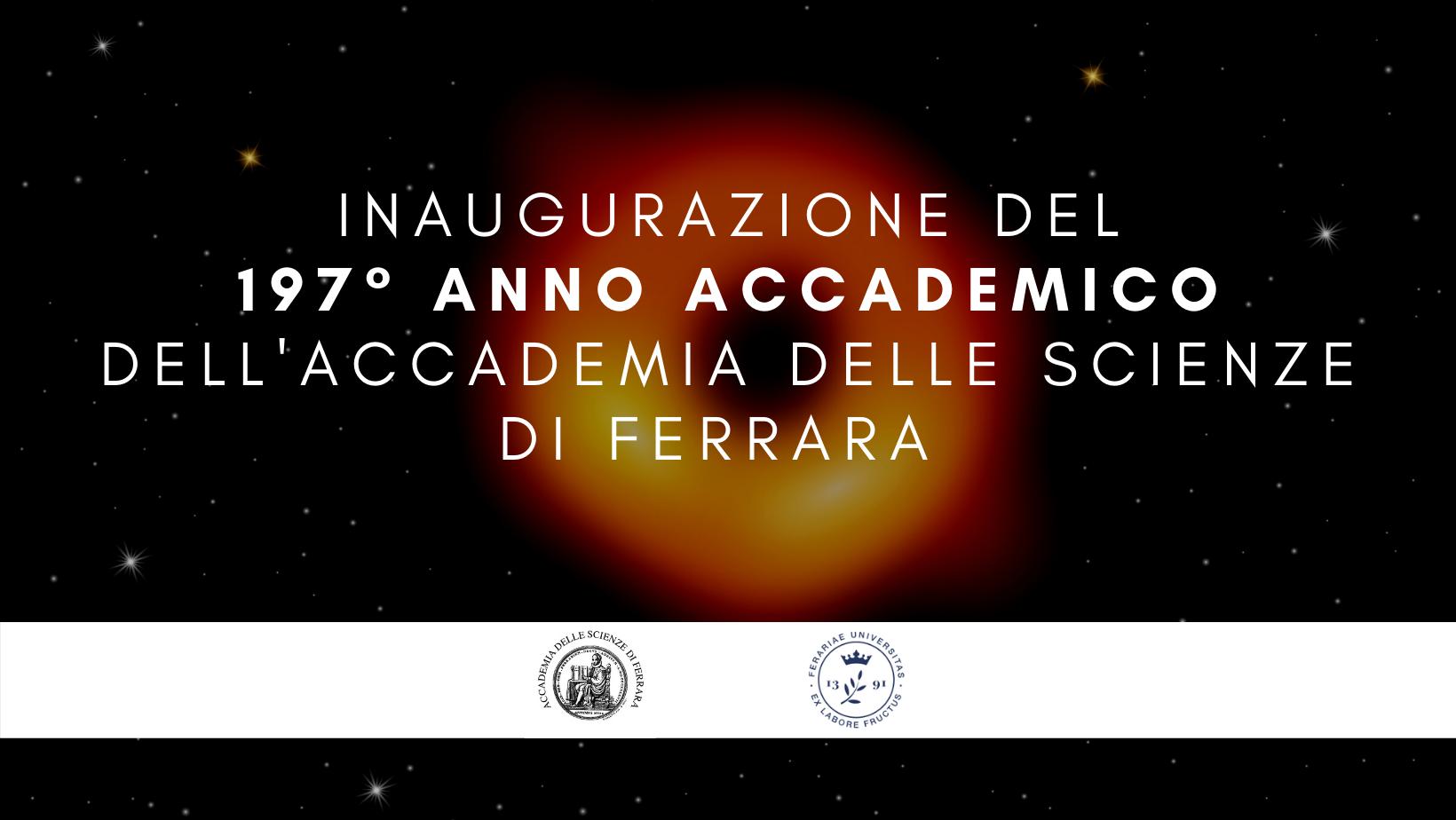 Inaugurazione CXCVII Anno Accademico dell'Accademia delle Scienze di Ferrara